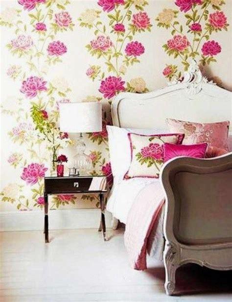 girly wallpaper bedroom girly floral bedroom wallpaper pinterest
