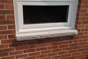Tile Window Sill Replacement Brick To Window Sill Replacement Ottawa