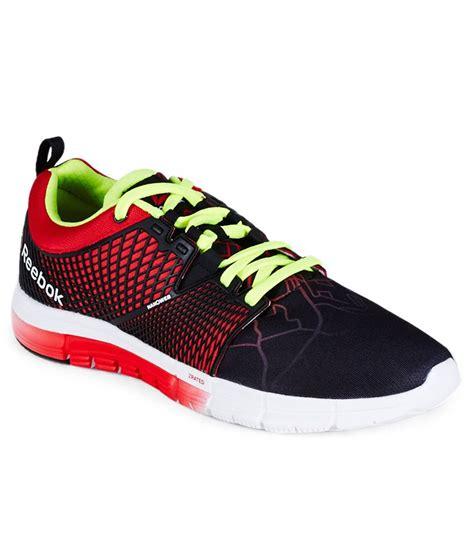 city sports shoes reebok zquick dash city black sport shoes