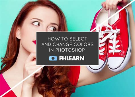 photoshop select color tutorial time how to select and change colors in
