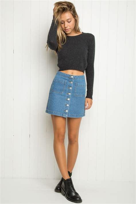 wear  denim skirt venetia kamara