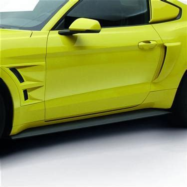 2015 2017 mustang air design side skirts jfo22a06