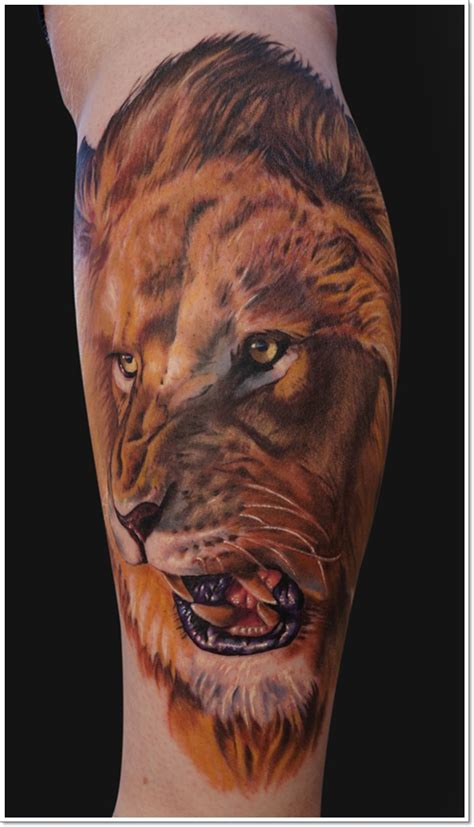 40 most original lion tattoos unleashing your inner beast