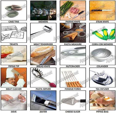 100 pics kitchen gadgets utensils level 41 level 60