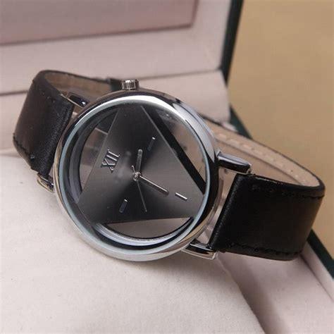 Jam Tangan Quiksilver Segi Empat jam tangan kado wanita style hollow triangle segitiga