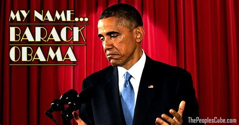 obama name obama s new act my name barack obama