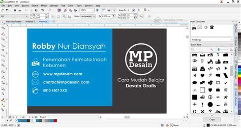 tutorial kartu nama coreldraw tutorial membuat desain kartu nama minimalis menggunakan