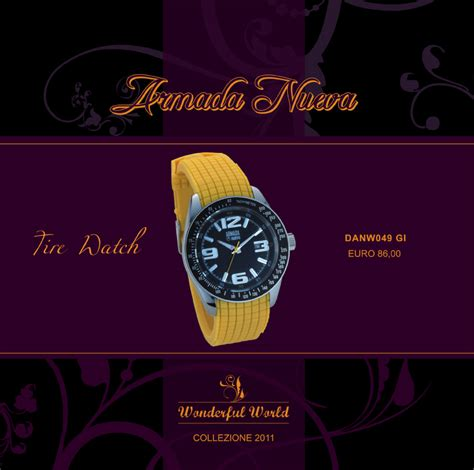 orologio armada nueva armada nueva orologi e gioielli giugno 2011
