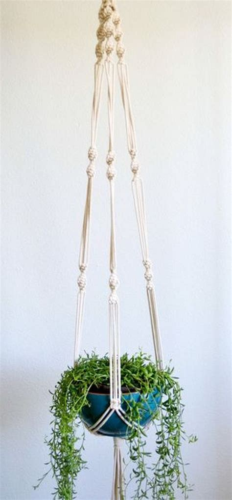 How To Make Plant Hangers Macrame - 25 best ideas about diy hanger on deko