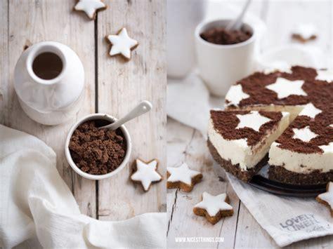 weihnachtlicher kuchen im glas zimtstern cheesecake das perfekte dessert f 252 r