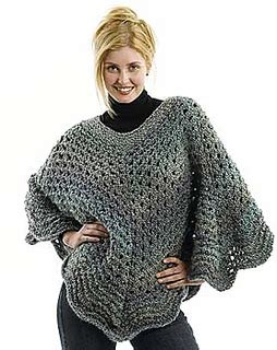 free knitted poncho patterns ravelry martha stewart coming home poncho plus size