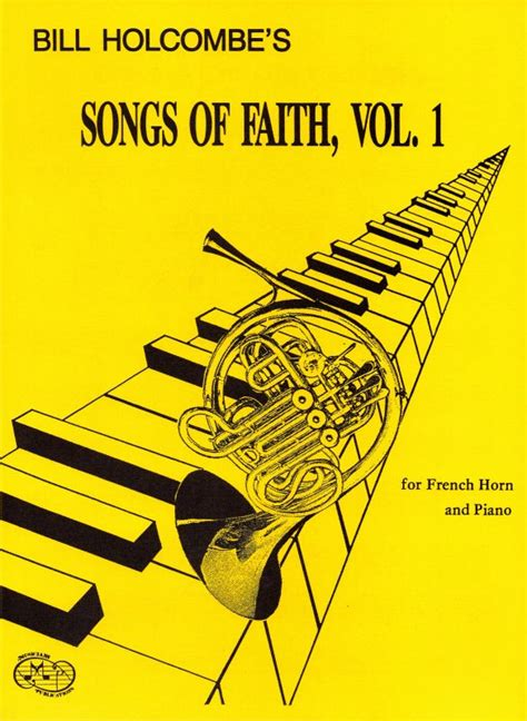ellie s faith of volume 1 books songs of faith for horn and piano volume 1 book