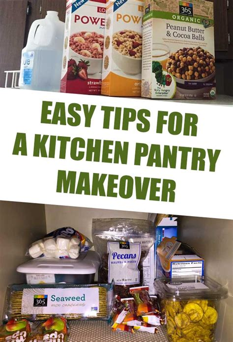 Kitchen Pantry Makeover by Easy Tips For A Kitchen Pantry Makeover