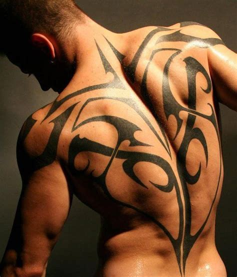 tattoo tribal dos homme tatouage dos homme 15 photos de tatouages dos
