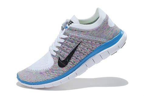 womens running shoes for sale nike free 4 0 flyknit grey white black running shoes