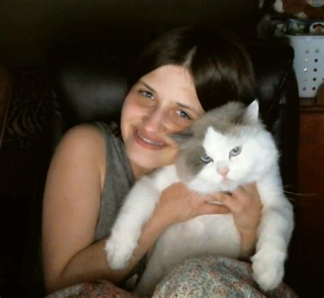 me and my cat my cat loves me by tigerloverm on