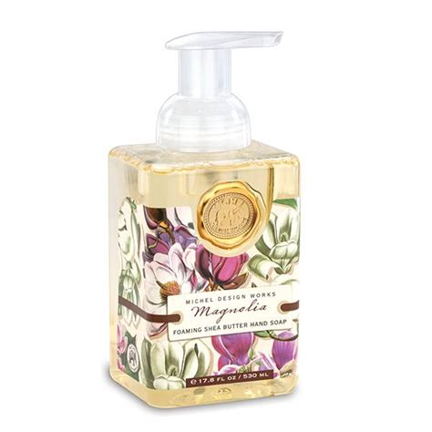 michel design wrapped soap narcissus foaming hand soap by michel design works magnolia