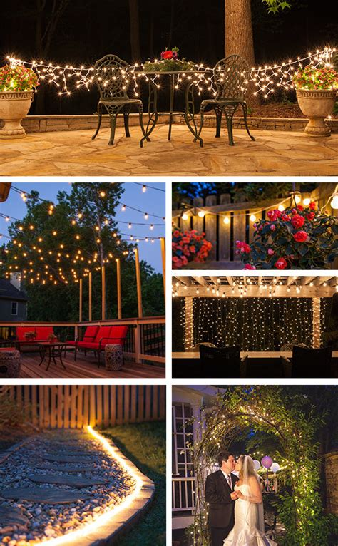 Patio Lights Yard Envy Patio String Light Ideas