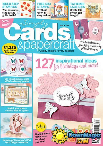 Simply Cards Papercraft - simply cards papercraft issue 135 2015 187 pdf