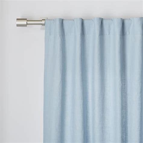 belgian linen curtain belgian flax linen curtain moonstone west elm