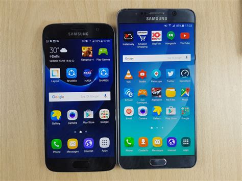 Samsung Galaxy S7 vs Samsung Note 5 Comparison Review
