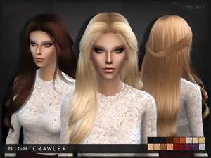 sims 4 hair milady hair by nightcrawler at tsr 187 sims 4 updates