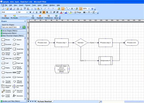 visio exles best photos of visio flowchart exles microsoft visio