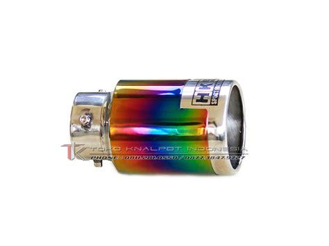 Knalpot Mobil Hks Rainbow Panjang Cocok Untuk Semua Jenis Mobil Pipe Hks Advance Stainless Rainbow Tk Mc 3015 Asr