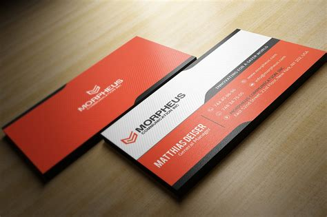 Free Orange Travel Business Card Templates by Orange Business Card Business Card Templates Creative