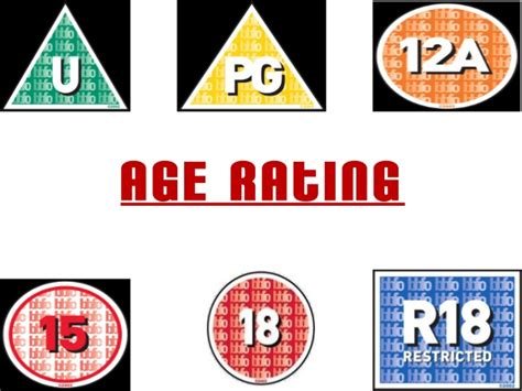 Or Age Rating Age Rating