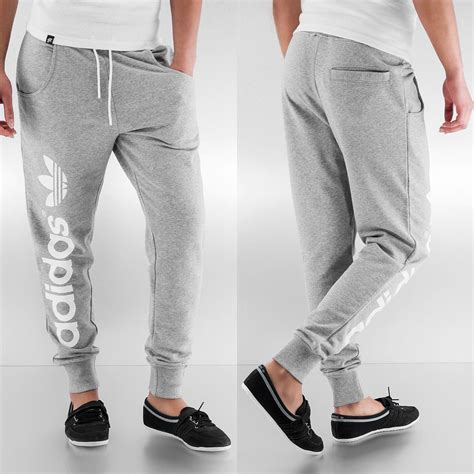 Nike Adidas Jogger Pendek Sweatpants adidas pantalon baggy track en gris