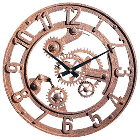 gear wall decor small arabic gear wall clock industrial wall clocks