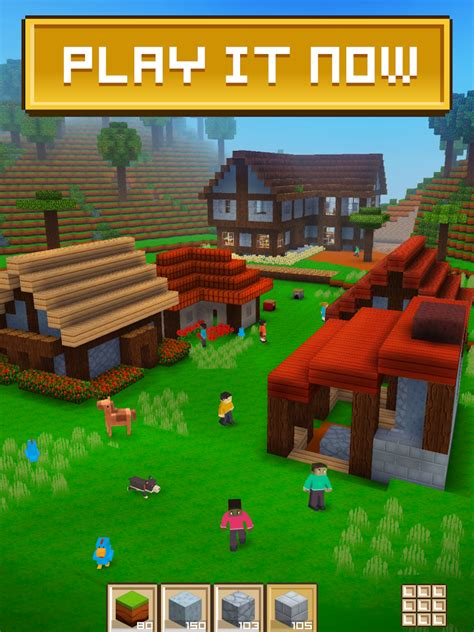 build a house online free block craft 3d building simulator games for free