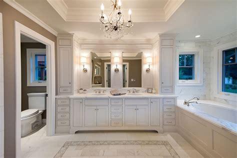 bathroom vanity ideas for small bathrooms Bathroom Traditional with bath chandelier crystal