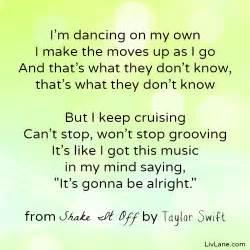 Shake it off lyrics by taylor swift