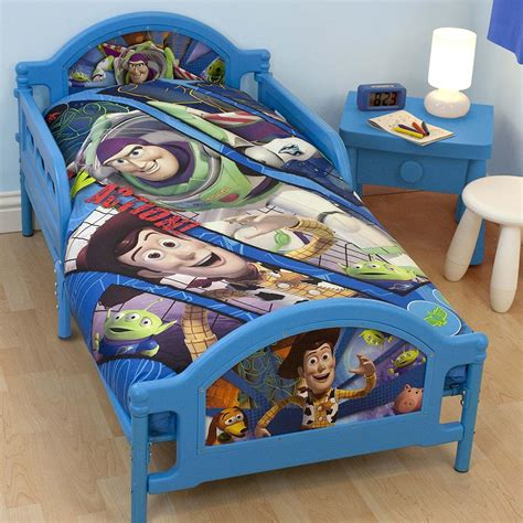 toy story toddler bed set toy story fractal junior toddler bed new buzz lightyear