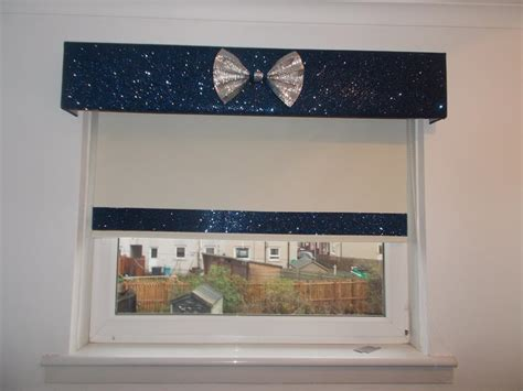 Bow And Bay Windows glitter pelmet gallery