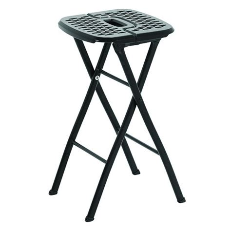 24 Folding Stool by Mitylite Flex One Folding Stool 24 Quot Black Pack Of 2 Ebay