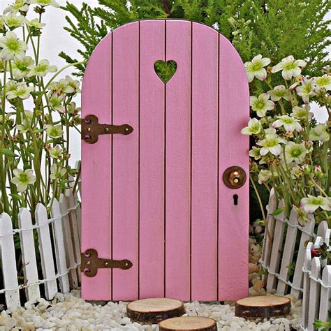 Sweetheart Fairy Door Handmade by Jennifer Fairy Garden