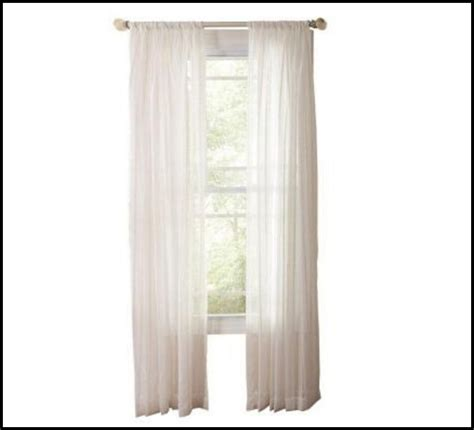 double rod pocket sheer curtains sheer double rod pocket curtains curtains home design