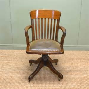 antique office furniture quality edwardian oak antique swivel office chair