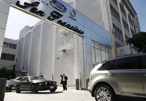 san francisco ford lincoln mercury san francisco loses last domestic car dealership techautos