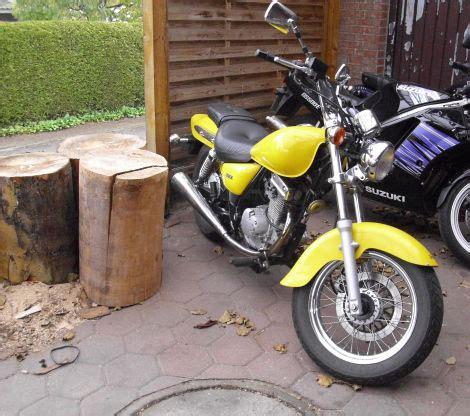 Einsteigermotorrad 125ccm by Chopper Suzuki Marauder 125 Ccm Gelb Biete