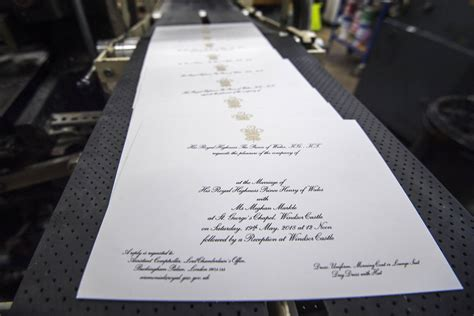 what do wedding invitations look like here s what prince harry and meghan markle s wedding invitations look like deseret news