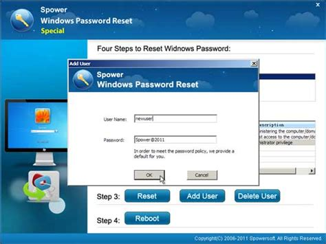 windows password reset special windows password reset raid recover any forgotten windows