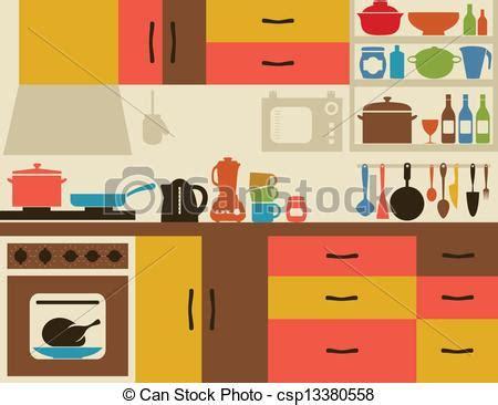 clipart cucina kitchen illustrations u1252459 barnes