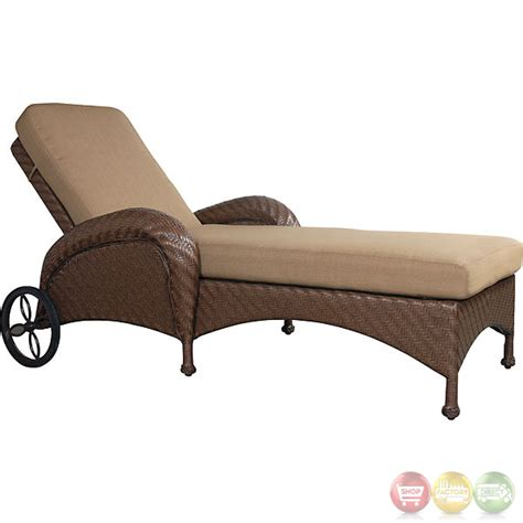 chaise lounge set villanova 3 piece weather resistant wicker outdoor chaise