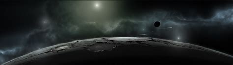 wallpaper two walls or one sci fi full hd wallpaper and background 3840x1080 id