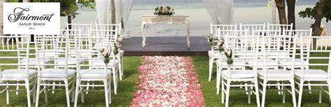 Weddingku Fairmont by By Fairmont Sanur Bali Weddingku