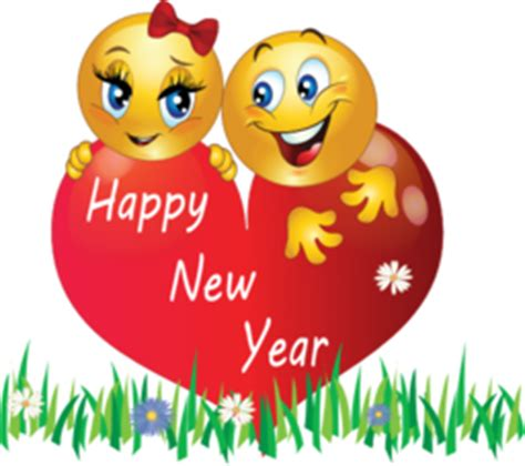 happy new year smileys animated happy new year clipart png new calendar template site